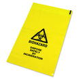 Yellow Clinical Waste Bag - 432mm x 660mm - Single