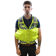 Bastion EMS 5 Pocket Tactical Vest in Yellow/Green
